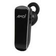 Fone de ouvido - Amoi música estéreo Bluetooth headset preto 40