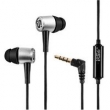 Fone de ouvido - amor ipsdi Shi Imperador HF106 headset baixo de prata fio de fone de ouvido de telefone