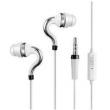 Fone de ouvido - amor ipsdi Shi Imperador HF107 fones auriculares Prata