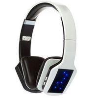 Fone de ouvido - Apphome auricular sem fios preto e branco