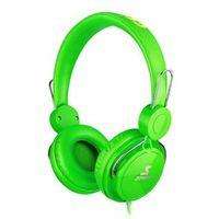 Fone de ouvido - apphome um headset do computador fone de ouvido com fio do microfone do buraco verde