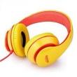 Fone de ouvido - Baixo fio fone de ouvido fone de ouvido Senmai 185 não desmontáveis ? ? amarelo