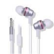Fone de ouvido - Belo som de fio de fone de ouvido estéreo de ouvido com ZTE Q7 Z5SMINI N880S Prata