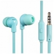 Fone de Ouvido - calor HotFire com uma orelha azul fio do Microfone de Ouvido