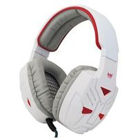Fone de ouvido - de Bo fone de ouvido branco vermelho emite luz