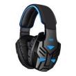 Fone de ouvido - de Bo Headset Preto Azul emite luz