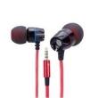Fone de ouvido - Engenheiros ouvido DIY profissional headphones orelha telefone HIFI fone de ouvido com controle remoto preto