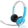 Fone de ouvido - fone de ouvido fones de ouvido jogos de computador head - mounted céu azul bom cabeça - montada