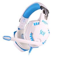 Fone de ouvido - G2100 porque a vibração da banda Zhuo jogos de computador profissional vibração headset luminescência