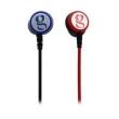 Fone de ouvido - gorsun música ainda GS282 telefone móvel headphones headset de ouvido com controle remoto preto