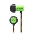 Fone de ouvido - KZ HDS1 fone de ouvido da orelha do fio de metal verde música Standard Edition