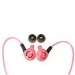 Fone de ouvido - Le ligada lounen luminosa rosa auscultadores vitalidade