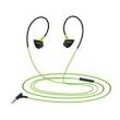 Fone de ouvido - Os cartões podem orelha fone de ouvido fone de ouvido com verde pálido