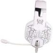 Fone de ouvido - Porque Zhuo EACHG1100 fone de ouvido branco vermelho