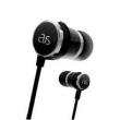 Fone de Ouvido - Prata Silver Line Edição - fibra de carbono headset edição linha silvering audiosense TX10 Prata Prata