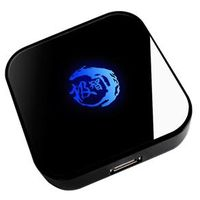 Fone de ouvido - Prêmio JIZZ gelo escorpião Laptop divisor USB azul claro