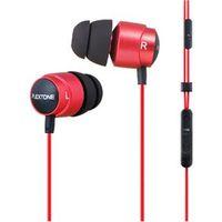 Fone de ouvido - Pu PLEXTONE X43M buraco fone de ouvido vermelho - ear