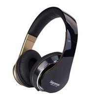 Fone de ouvido - Senmai SMIP174I fone de ouvido fone de ouvido fone de ouvido preto e dourado