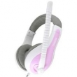 Fone de ouvido - Sômica Sômica EC15 duplo plugue jogo de computador rosa