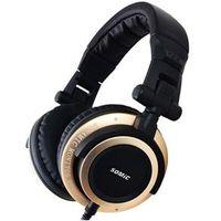 Fone de ouvido - Sômica Sômica MM163 cabeça - montada computador telefone headset preto