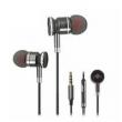 Fone de ouvido - Telefone Mecose de metal fio fone de ouvido