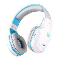 Fone de ouvido - Zhuo B3505 porque fone de ouvido fone de ouvido Bluetooth branco e azul