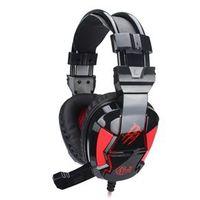 Fone Headsets - Emitting Edição - Wired headset gaming headset luminosa versão luminosa preto