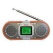 Rádio - Rádio - Banda Completa Degen Pequeno Preto Rádio Digital Portátil