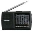 Rádio - Rádio Fm Degen Fm Rádio Portátil Banda Completa Dsp Preto