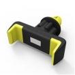 Suporte de celular veicular - Air World Car titular de Telefone celular amarelo