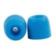 Fone de ouvido - Afluência Zephone Z100 earmuffs abertura 3 mm 3 pares de vestido azul