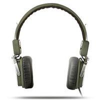 Fone de ouvido - Aigo Patriot EROS H651 HIFI auscultadores cabeça - montado baixo peso branco