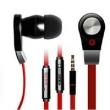 Fone de ouvido - Aigo Patriot Luar EP2628 orelha vermelha tipo fone de ouvido