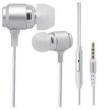 Fone de ouvido - Alemanha e Tailândia Chang fone de ouvido de orelha de prata metálico fio fone de ouvido estéreo