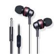 Fone de ouvido - Belo som de fio de fone de ouvido estéreo de ouvido com Y28Y27 X5V y923 preto