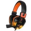 Fone de ouvido - canleen Jiahe Gaming Headset fone de ouvido R8 laranja preto versão luminosa