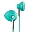 Fone de ouvido - Cruzamento Zhete dzat forma simples tipo orelha música telefone headset chamada headset turquesa