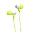 Fone de ouvido - Fio de orelha Yi Sen YISON com a cor de grama verde - computador 560