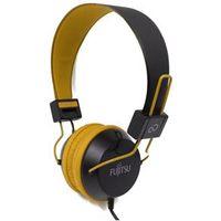 Fone de ouvido - Fujitsu FujitsuTH11 série 35 milímetros fone de ouvido Fones de ouvido amarelo
