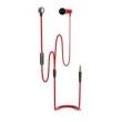 Fone de ouvido - MATE - ear headphone headset fio vermelho