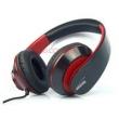 Fone de ouvido - Senmai SMHD408MV estilo cabeça de baixo headphone headset computador jogo headset voz com novo preto e vermelho