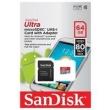Cartão De Memória 64gb Micro Sd Xc Sandisk Ultra 80mb / s