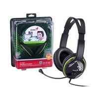 Fone com Microfone Genius Hs - 400A Headset Verde Grafite Ergonomico - 31710169100
