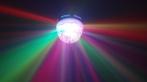Lampada De Led Colorida Giratória Para Festas Rgb