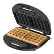 Sanduicheira Grill Black+Decker Multigrill 3 em 1 em Aço Escovado - Preto 110V