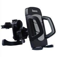 Suporte de celular veicular - Car Holder móveis ventilação de ar fresco moldura preta