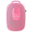 Caixa de som - Modern HYUNDAIi20 Speaker bastão de selfie rosa