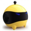 Caixa de som sem fio - Alto - falantes ao ar livre sem fio CHEN A6 Bluetooth estéreo pequeno Laranja