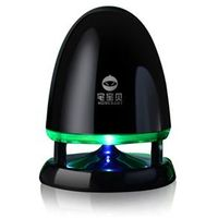 Caixa de som sem fio - Casa Tony notebook portátil mini alto - falantes multimídia USB soar verde escuro