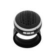 Caixa de som sem fio - Facilmente suportar cool relógios Bluetooth som alto - falante cartão de MP3 chamada orador preto